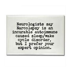 narcolepsy magnets | Sleep Disorders Gifts & Merchandise | Sleep Disorders Gift Ideas ...