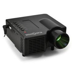 Klarstein YX4B LED Mini Home Cinema / Office Projector (USB Christmas Gifts For Grandads, Home Cinemas, Slot, Usb, Mini, Black, Products, Black People, Gadget