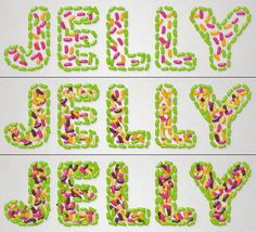 How to Create a Delicious Jelly Bean Text Effect in Photoshop - Tuts+ Design & Illustration Tutorial