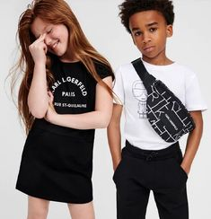 KARL LAGERFELD KIDS SS21 Karl Lagerfeld Kids, T Shirts For Women, Tops, Fashion, Moda, Fashion Styles, Fashion Illustrations