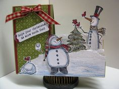 Christmas in July by GardenDiva - Cards and Paper Crafts at Splitcoaststampers