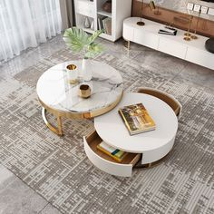 Coffee Table Design, Decorating Coffee Tables, Coffee Table With Storage, Ottoman Coffee Tables, White Coffee Tables, Marble Coffee Tables, Coffee Table For Small Living Room, Boho Living Room, Living Room Decor