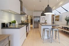 side return extension kitchen - Google Search
