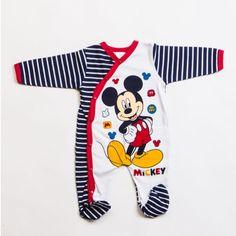 Disney MC5347 Lisanslı yandan çıtçıtlı bebek tulum