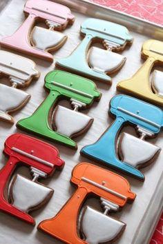 Om op te eten!  :: #Libelle :: Kitchen-aid cookies :-)hoe leuk  zijn deze, die ga ik ook maken!