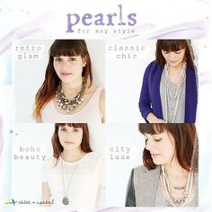 What's your #pearl personality? Whatever your style, c+i's got you covered! Visit: https://www.chloeandisabel.com/boutique/cmonae#25050
