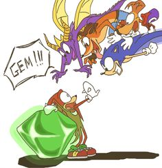 lol look at sonic!