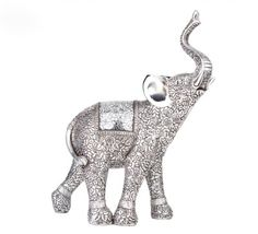 X-Gift Aramani silver color elephant Showpiece - 43 cm Price in India - Buy X-Gift Aramani silver color elephant Showpiece - 43 cm online at Flipkart.com