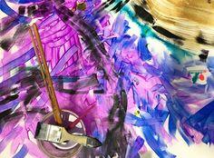 "Ishita Sharma (@lavender_hues_art) on Instagram: ""And back to painting now . . . #artinprogress #creativeprocess #studioscenes #acrylicpainting…"""