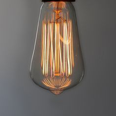 Anchor Squirrel Cage Filament Bulb / design by Hattie Hollins