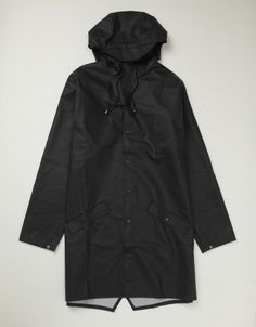 Rains Long Jacket (black)