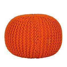 Poef Stockholm - oranje 65€