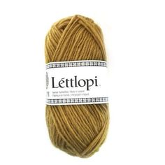 Lettlopi by Istex is an aran weight yarn that is the product of the Icelandic sheep. Use this yarn to create traditional or modern Icelandic styled Lopapeysa.