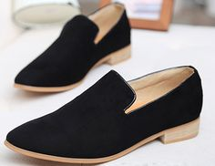Black Slip On Loafer Mens Fashion Suede Dress Shoes - PerfectMensWholesale