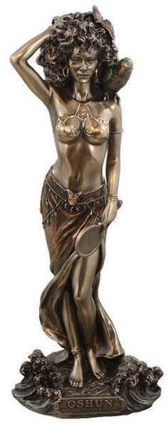 Oshun Goddess of Love, Beauty and Marriage Statue