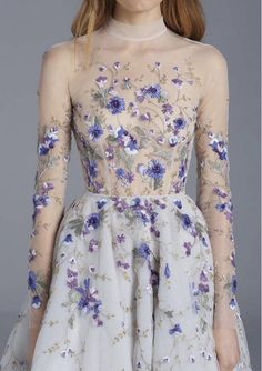 "Paolo Sebastian ""naked"" dress (the funny thing about these to me is there is…"