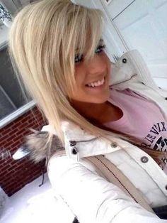 Latest Blonde Hairstyles Girls