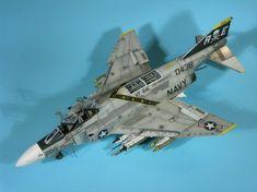 1/72 Hasegawa F-4N Phantom II VF-84 Jolly Rogers by AEX