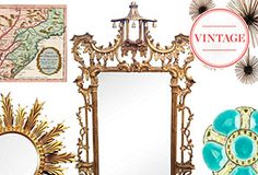 Outside the Box: Vintage Wall Décor One Kings Lane