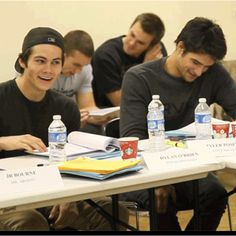 Dylan Obrien & Tyler Posey... Dying.