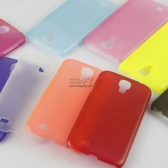 Ultra-Thin Scrub Translucent Clear Bumper Case Cover for Samsung Galaxy S4 i9500 [SY00000059] - $3.99