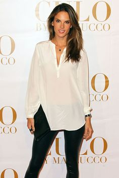 Alessandra Ambrosio turned 31, April 11. The Brazilian fashion model is also an ambassador for the National Multiple Sclerosis Society.
