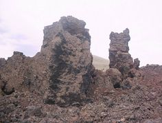 Craters of the Moon National Park, ID.  Elephant Rock.