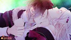 【Translation】Diabolik Lovers B's LOG article - Raito's scenario cut Anime Love, Anime W, Girls Anime, Awesome Anime, Anime Couples Drawings, Anime Couples Manga, Cute Anime Couples, Anime Diabolik Lovers, Diabolik Lovers Wallpaper