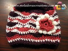 Your place to learn how to Crochet The Wavy Stitch Beanie for FREE. by Meladora's Creations - Free Crochet Patterns and Video Tutorials