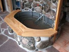 solar indoor hot tub from earthbag building. We really want to make an earthbag home