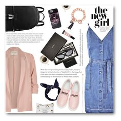 """City styled chic"" by norairh on Polyvore featuring J Brand, River Island, Sephora Collection, MICHAEL Michael Kors, GUESS, Kenzo, Boohoo, Beauty Rush and Aspinal of London"