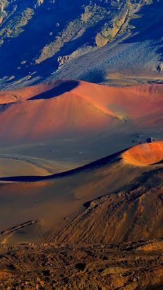 The crater is one treat at the summit of this old volcano. The drive up--and back down--is another. [Haleakala National Park, Maui, Hawaii]