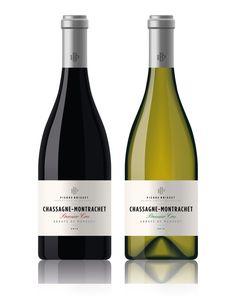 Designs   Elegant Logo and Wine Bottle Label Design for Premium French Burgundy Wine   Product label contest