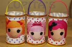 Lalaloopsy birthday party favor goodie bags girl. $18.99, via Etsy.