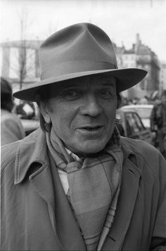 Gilles Deleuze (1925-1995) - French philosopher who, from the early 1960s until his death, wrote influentially on philosophy, literature, film, and fine art. Photo by Hélène Bamberger.