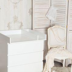 Plan à langer + séparation pour Ikea Malm commode (blanc): Amazon.fr: Bébés & Puériculture