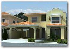 fachadas de casas angostas de dos pisos - Buscar con Google