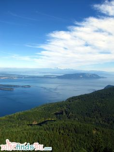 PICTORIAL: Moran State Park - The View From Mt Constitution, Orcas Island, WA - What a view only 14 weeks away!!!!