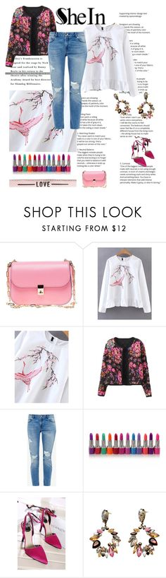 """""""shein 1"""" by lifestyle-79 ❤ liked on Polyvore featuring Valentino, WithChic and Ted Baker"""