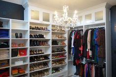 Toronto Walk-in Closet Dressing Room - contemporary - Closet - Toronto - Toronto Custom Concepts