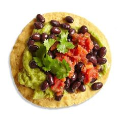Vegetarian Black Bean Tostada | CookingLight.com