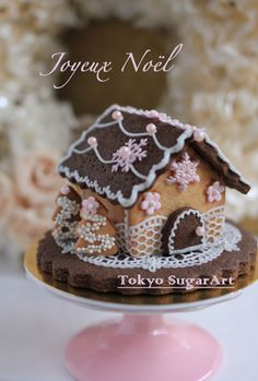 Gingerbread House Icing, Christmas Gingerbread, Sugar Art, Holiday Cookies, Food Art, Christmas Time, Sprinkles, Food And Drink, Birthday Cake