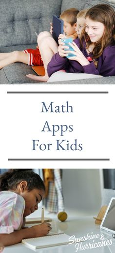 Math Apps For Kids #Kids #MathHelp #Math #School #Help