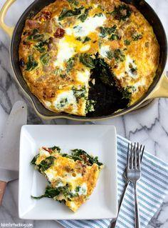 Turkey, Kale, Onion, and Sundried Tomato Frittata - use 8 eggs and 4 egg whites. Makes 3 ideal protein approved portions.