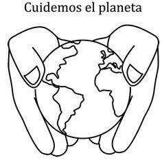 dia de la tierra para colorear - Google Search. Spanish 3 Earth Day Kindergarten Activities, Kindergarten Art, Science Activities, Activities For Kids, Earth Day Video, Water Poster, Earth Day Crafts, Art N Craft, Primary Classroom