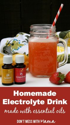 Natural Homemade Sports Drink - Don't Mess with Mama