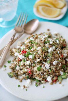 Greek Style Lentil Salad