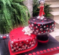 Betty boop party cake