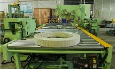 Coil packaging solution and stretch wrapper: Copper strip Coil packaging line