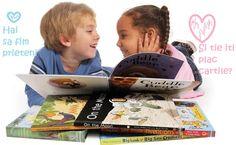 Ofera-i copilului tau cartile ideale pentru varsta lui, ajuta-l sa-si satisfaca curiozitatea, creativitatea si sa-si imbunatateasca! abilitatile!